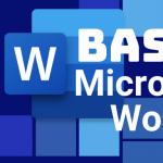 Monday, September 23: Basic Microsoft Word