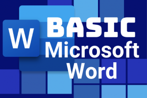 Monday, September 23: Basic Microsoft Word