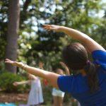 Family Yoga in the Gardens