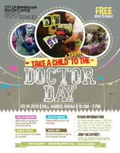 Take A Child and Teen to the Doctor Day!