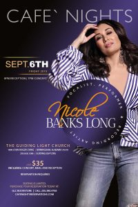 Cafe Nights Presents Nicole Banks Long Live