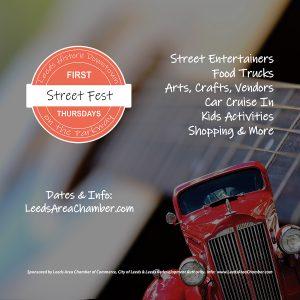 Leeds Downtown First Thursday Street Fest