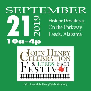 John Henry Celebration and Leeds Fall Festival