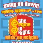 The Price is Right: Back to School