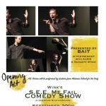 """Wink's """"SEE Me Fail"""" Comedy Show in American Sign Language"""
