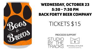 3rd Annual Boos and Brews at Back Forty!