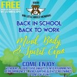 2019 Free Back in School, Back to Work: Body, Mind and Spirit Expo