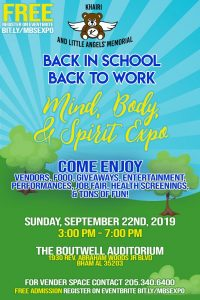 2019 Free Back in School, Back to Work: Body, Mind...