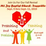 Fall Revival at Mt. Joy