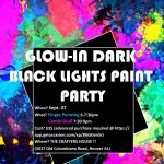 Glow in Dark Paint Night