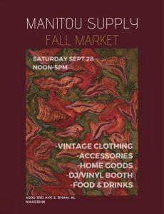 Manitou Supply Vintage Fair