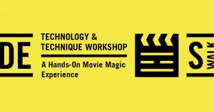 Tech & Technique Workshop: Screenwriting 101