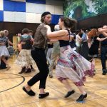 The FOOTMAD TURKEY TROT CONTRA DANCE!