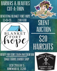 Barbers and Beauties Cut-A-Thon