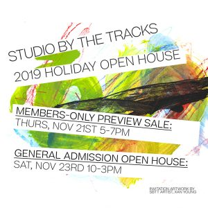 Holiday Open House Sale at Studio By The Tracks
