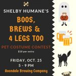 Shelby Humane's Boos, Brews and 4 Legs Too