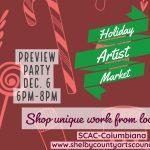 Holiday Artist Market