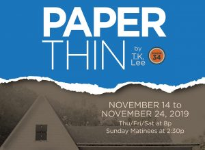 """PAPER THIN"" (Written In The South - #4, in the se..."