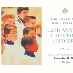 Birmingham Boys Choir Christmas Concert