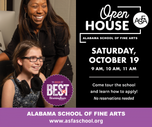 Open House for Prospective Students: Alabama School of Fine Arts