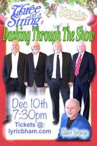 Three on a String: Dashing Through the Show