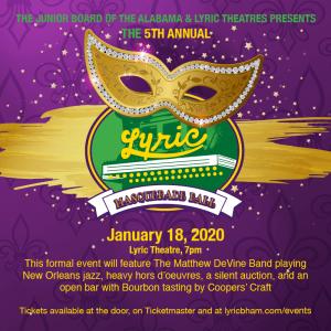 5th Annual Lyric Masquerade Ball