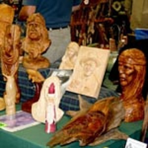 Woodcarver's Demonstrations at Tannehill
