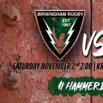 Rugby: Birmingham Vulcans vs Gadsden Pioneers