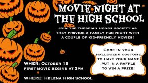 Family Friendly Halloween Movie Night!