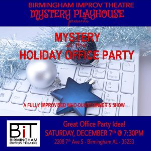 Mystery at the Holiday Office Party! A Who Dun'It Mystery Show
