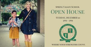 Spring Valley School Open House