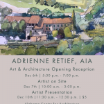 Adrienne Retief, Art and Architecture Opening Reception