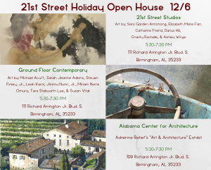 21st Street Holiday Open House