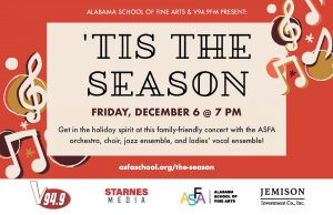 ASFA Music Department and V94.9 FM Present: 'Tis the Season