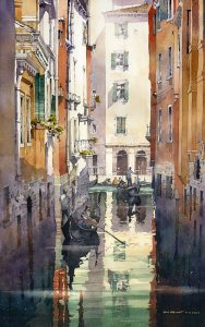Watercolor Workshop with Iain Stewart