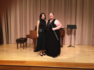Faculty Recital: Brittney Patterson, flute, and Eu...