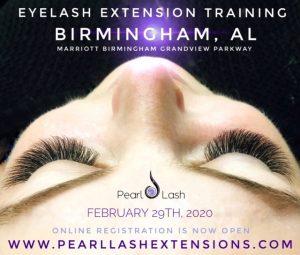 Eyelash Extension Training Event