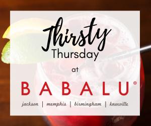 Thirsty Thursday at BABALU