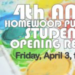 4th Annual Homewood Public Library Student Art Show Opening Reception
