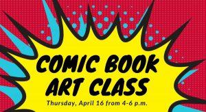 Comic Book Art Class