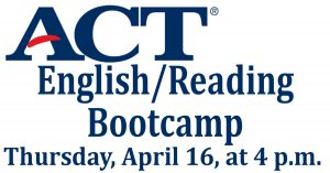 ACT English/Reading Bootcamp