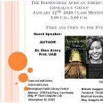 Birmingham African American Genealogy Group Monthly Meeting