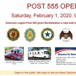 POST 555 OPEN HOUSE
