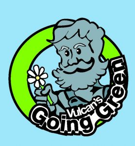VULCAN'S GOING GREEN GIRL SCOUT PATCH PROGRAM