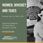 CONVERSATIONS and COCKTAILS: WOMEN, WHISKEY AND TAXES