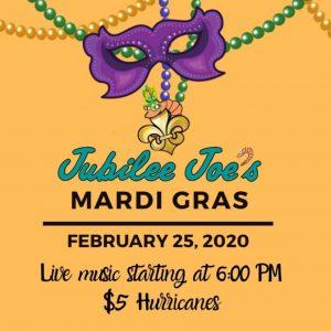 Jubilee Joe's Mardi Gras