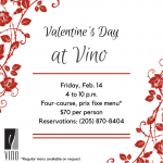 Celebrate Valentine's Day with Vino