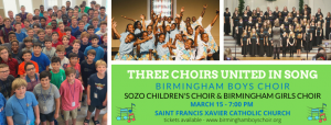 Birmingham Boys Choir Collaborates with Sozo Child...