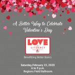"Love for Literacy ""A Better Way to Celebrate Valentine's Day"""