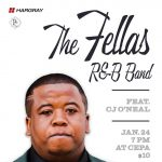 Local Sounds: The Fellas R&B feat. CJ O'Neal